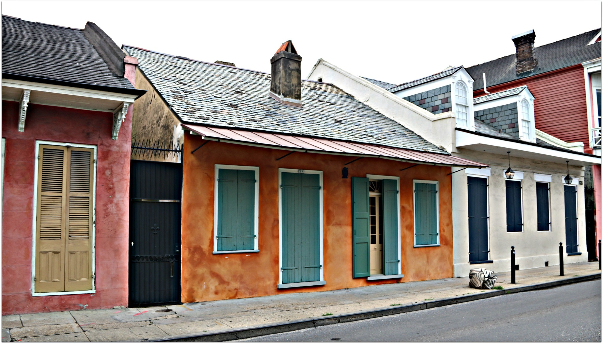 Creole Homes in French Quarter