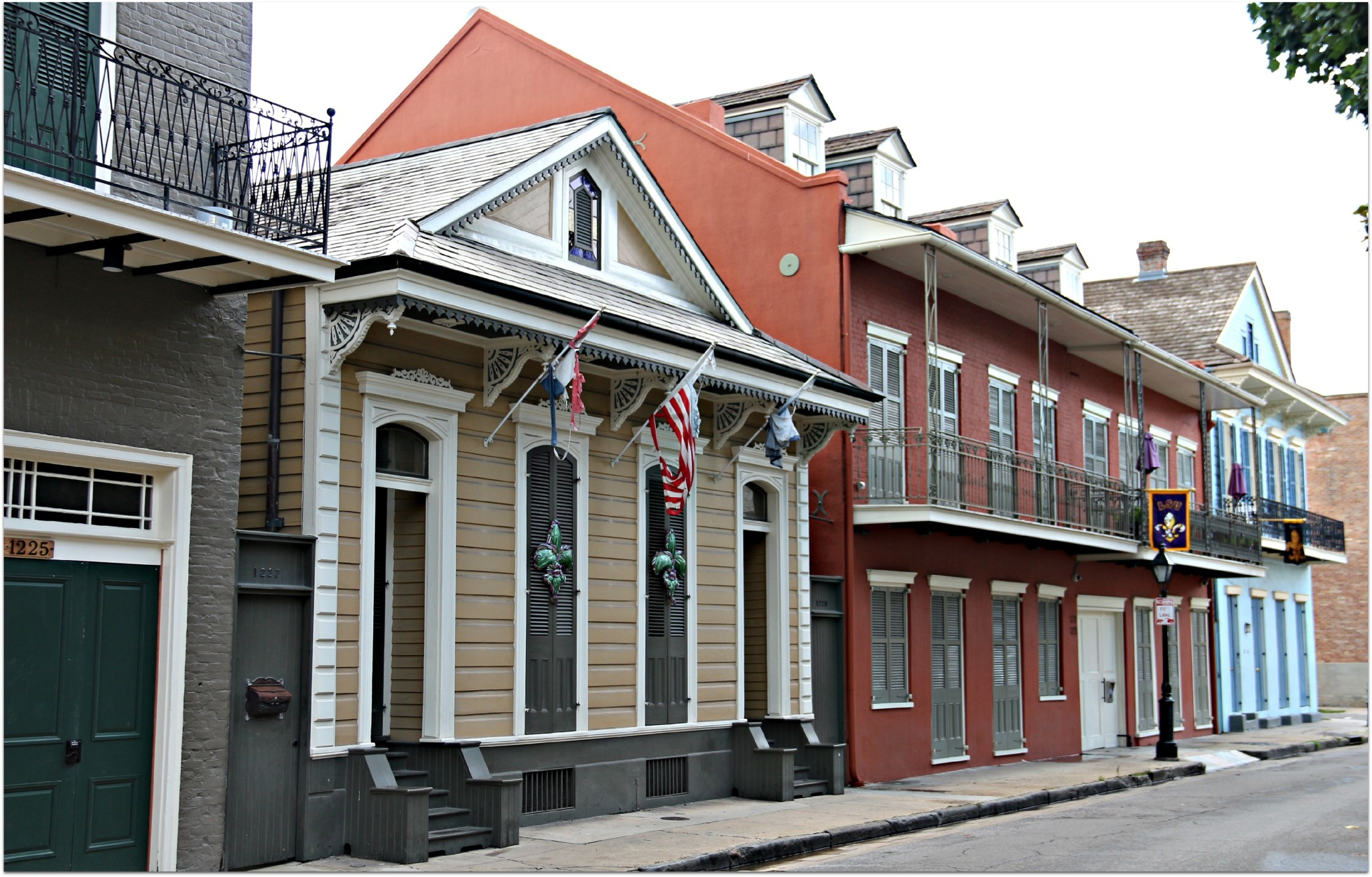 French Quarter Streets,Homes and Condos