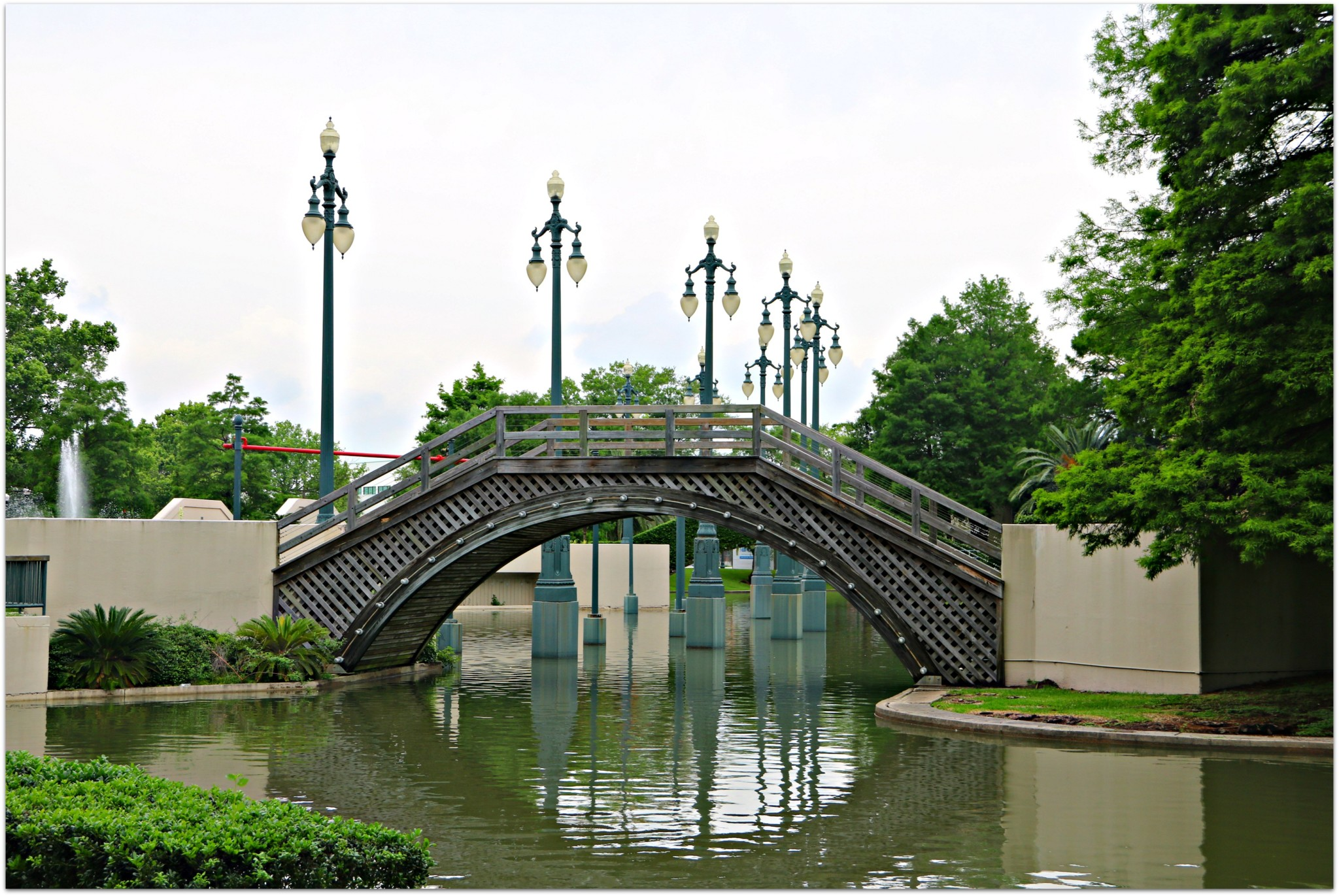 Armstrong Park Bridge