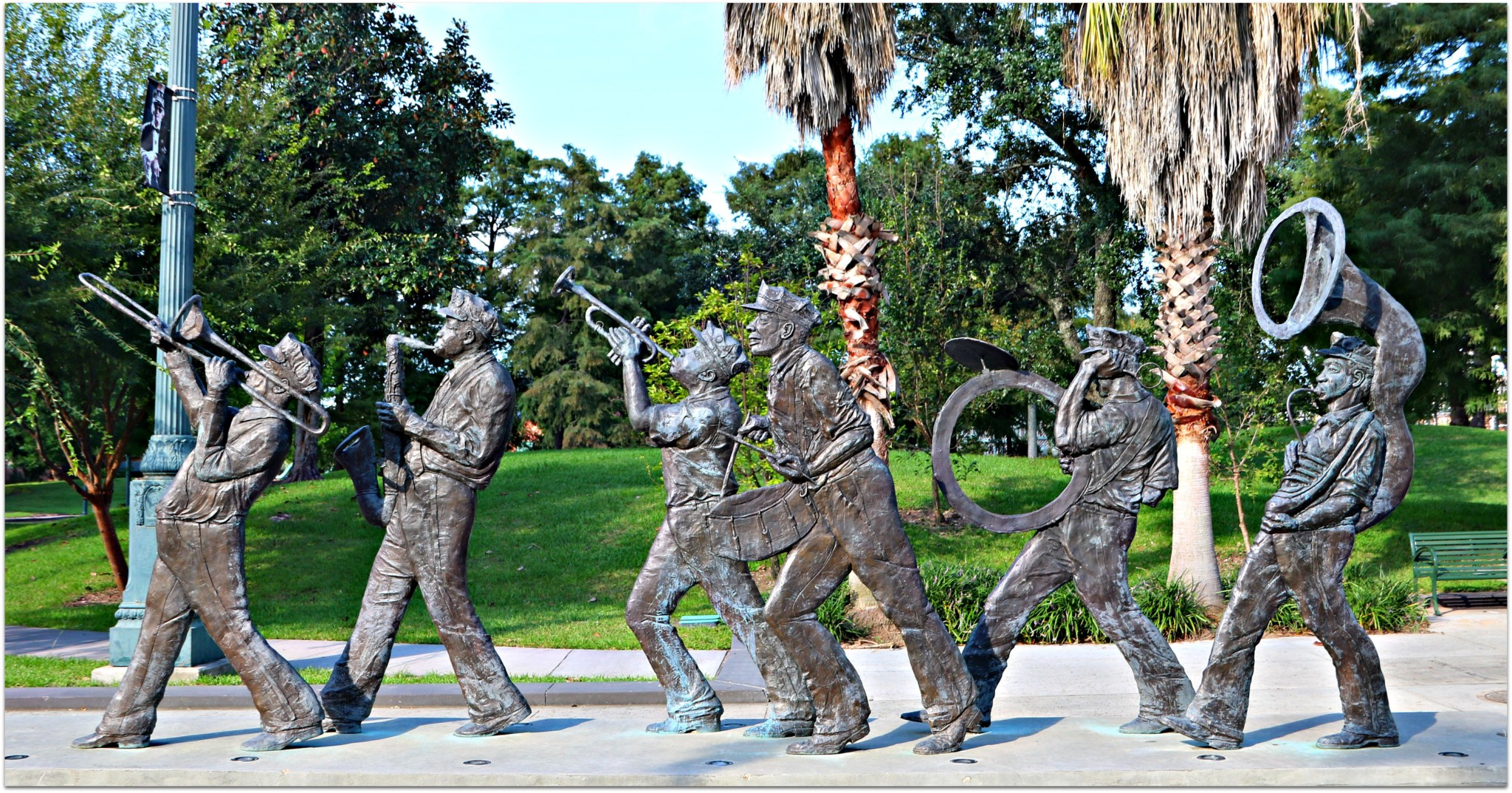 Armstrong Park Jazz Statues