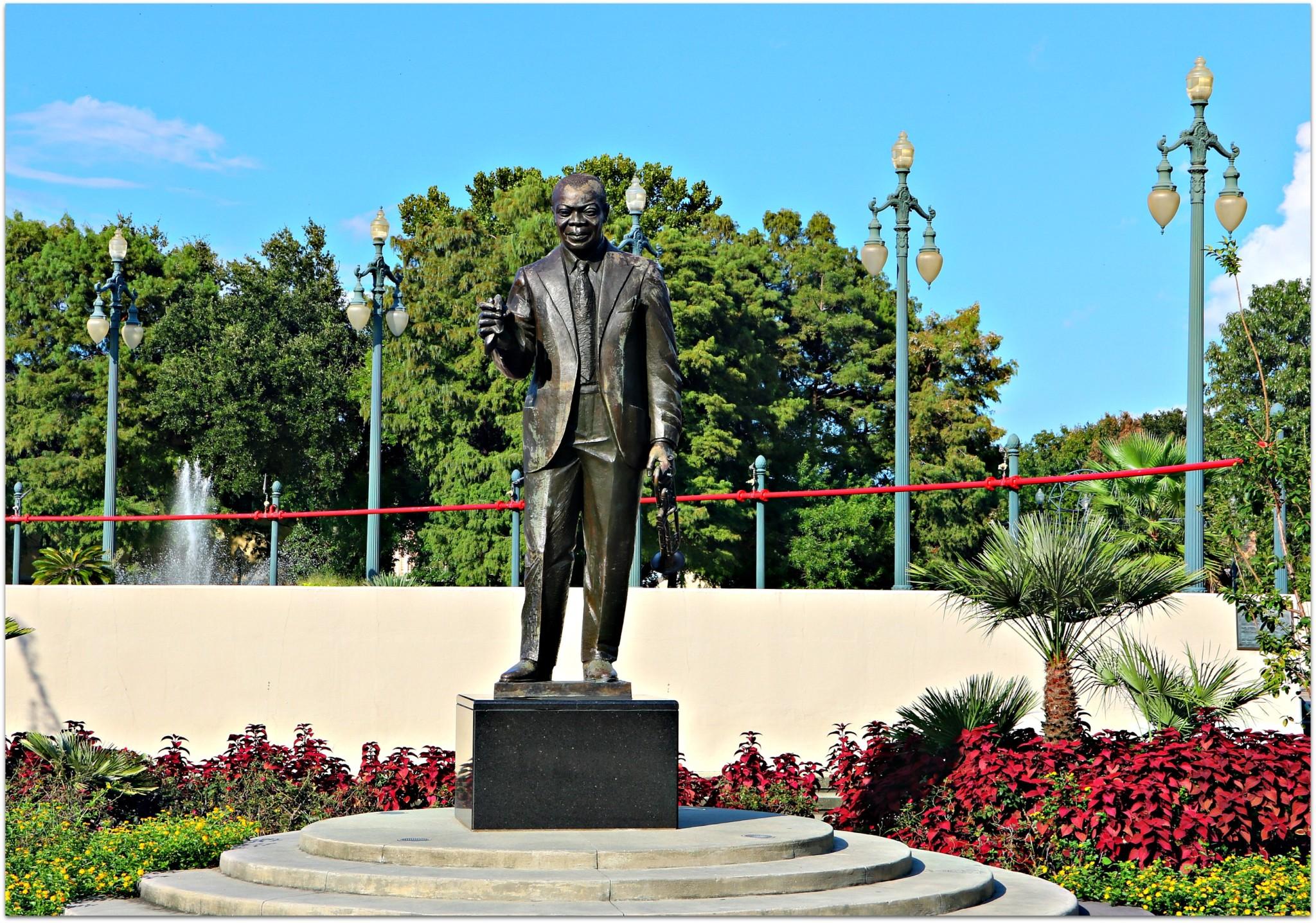 Armstrong Park,Louis Statue