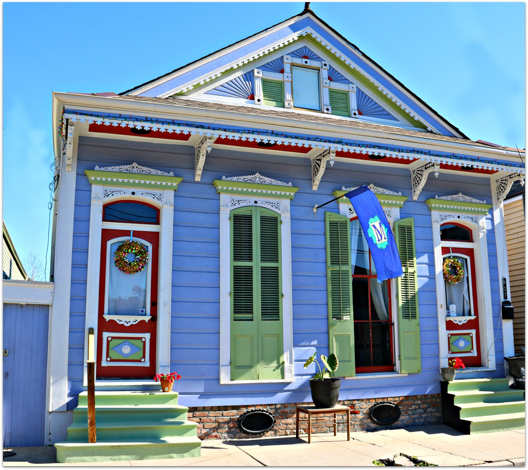 Bywater Colorful Home in New Orleans