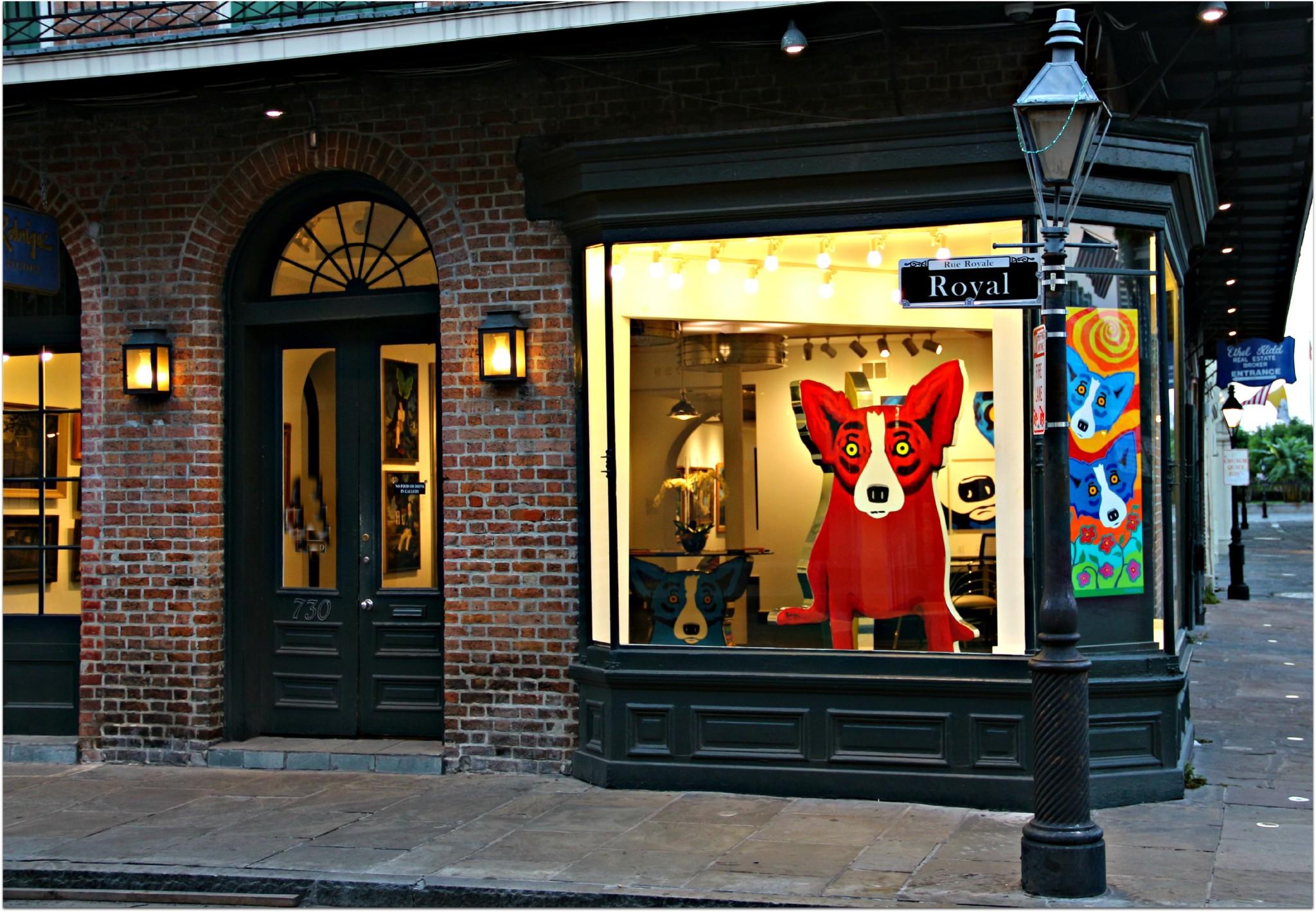 French Quarter Red Dog