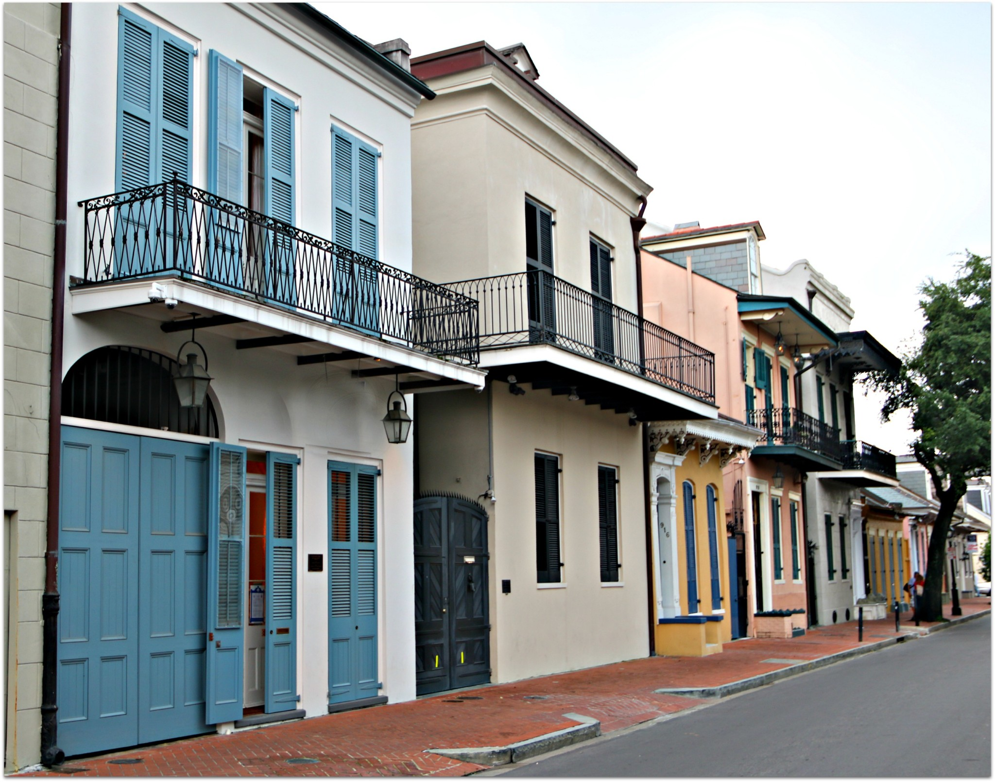 French Quarter Townhome Row