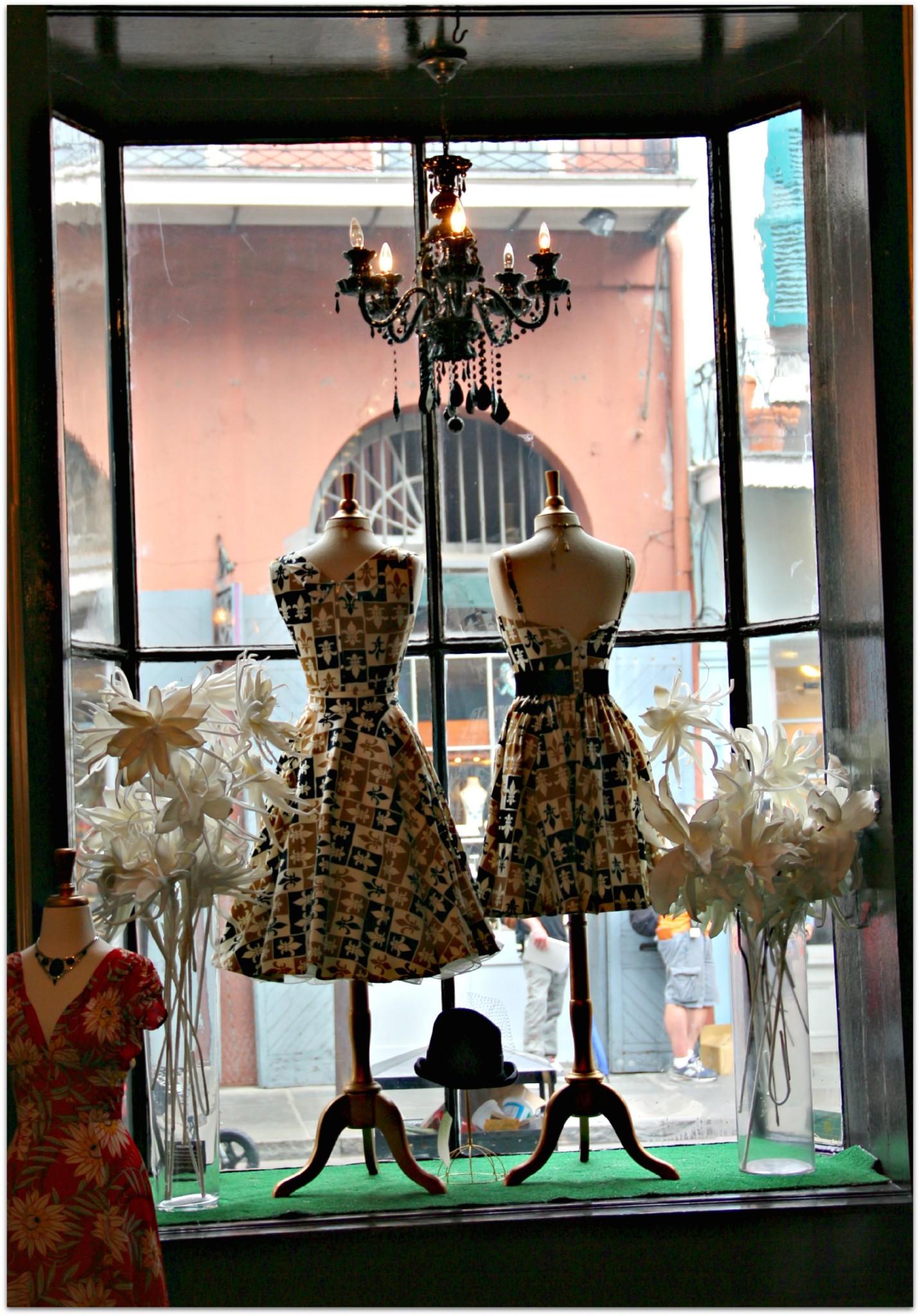 Window Shopping Inside, French Quarter