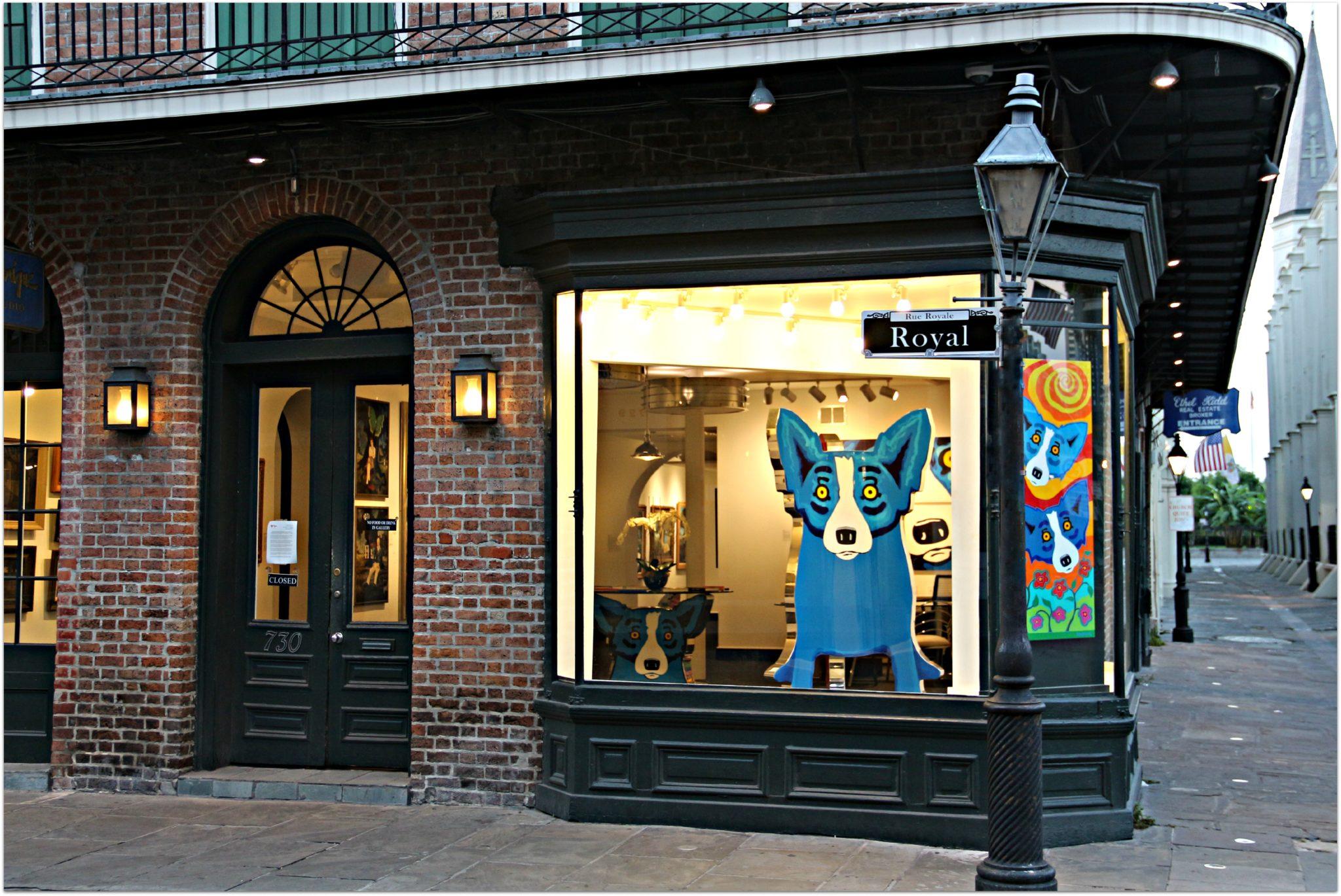 Art Galleries on Royal Street