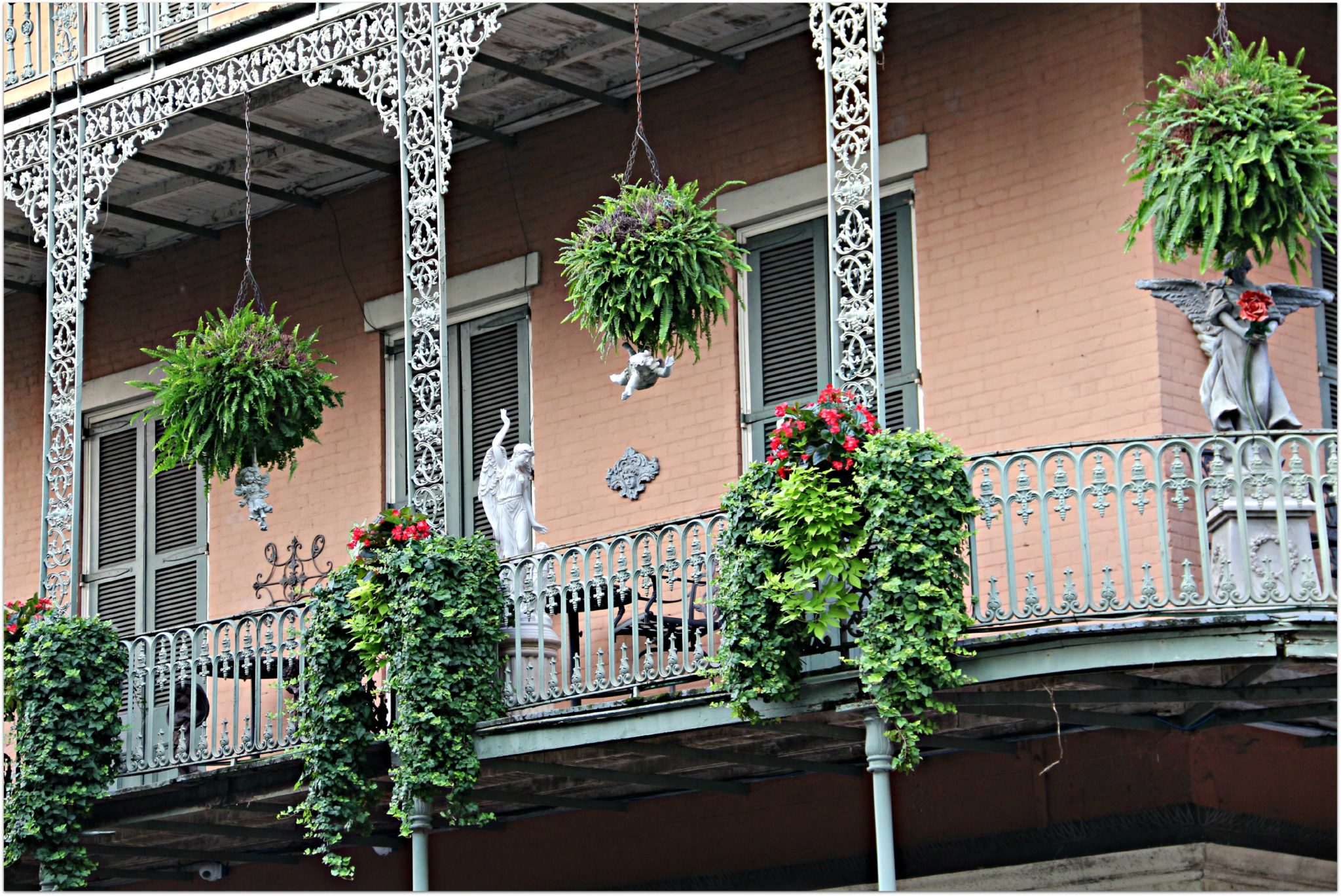 Balconies on Royal Street