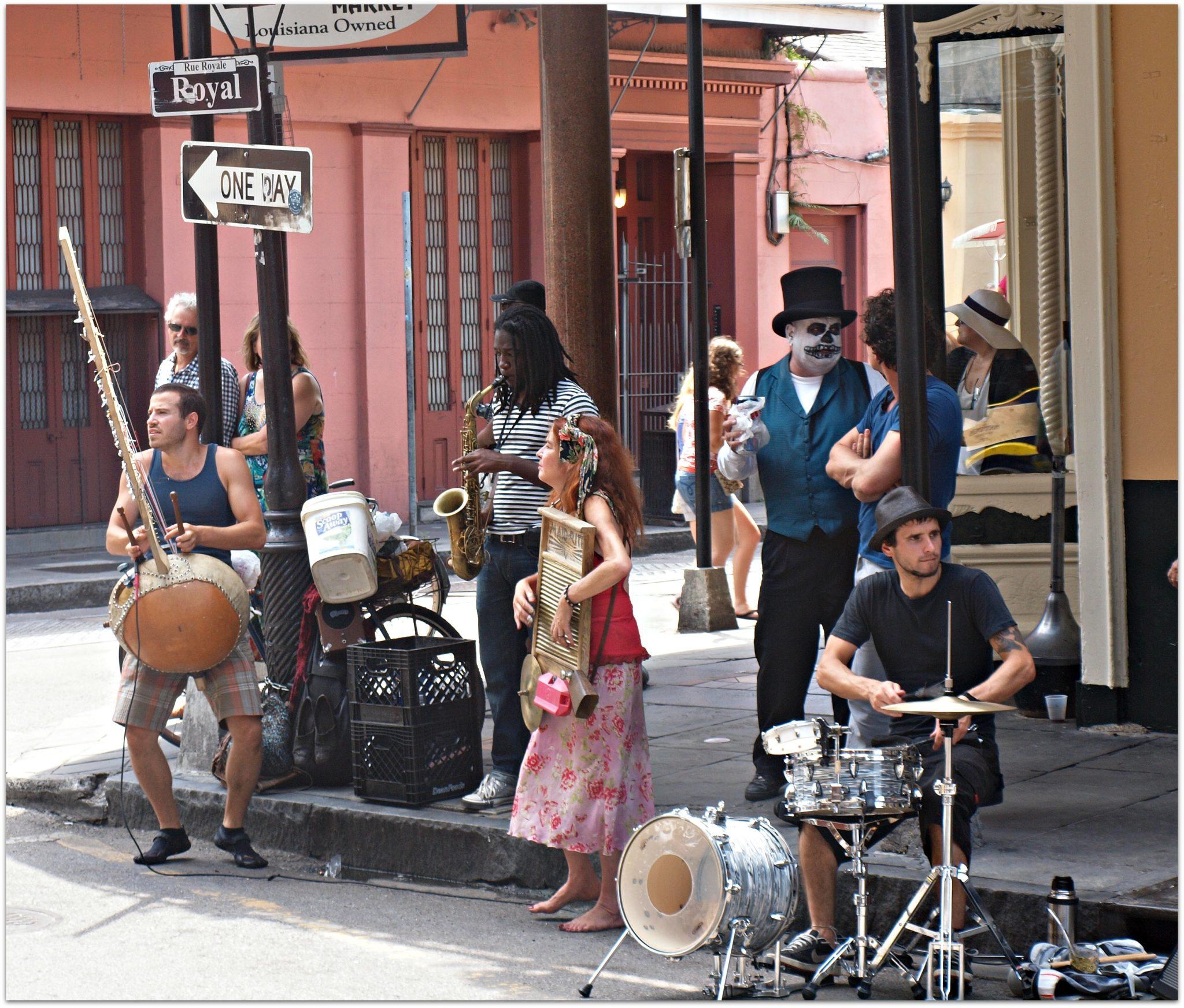 Street Music on Royal Street
