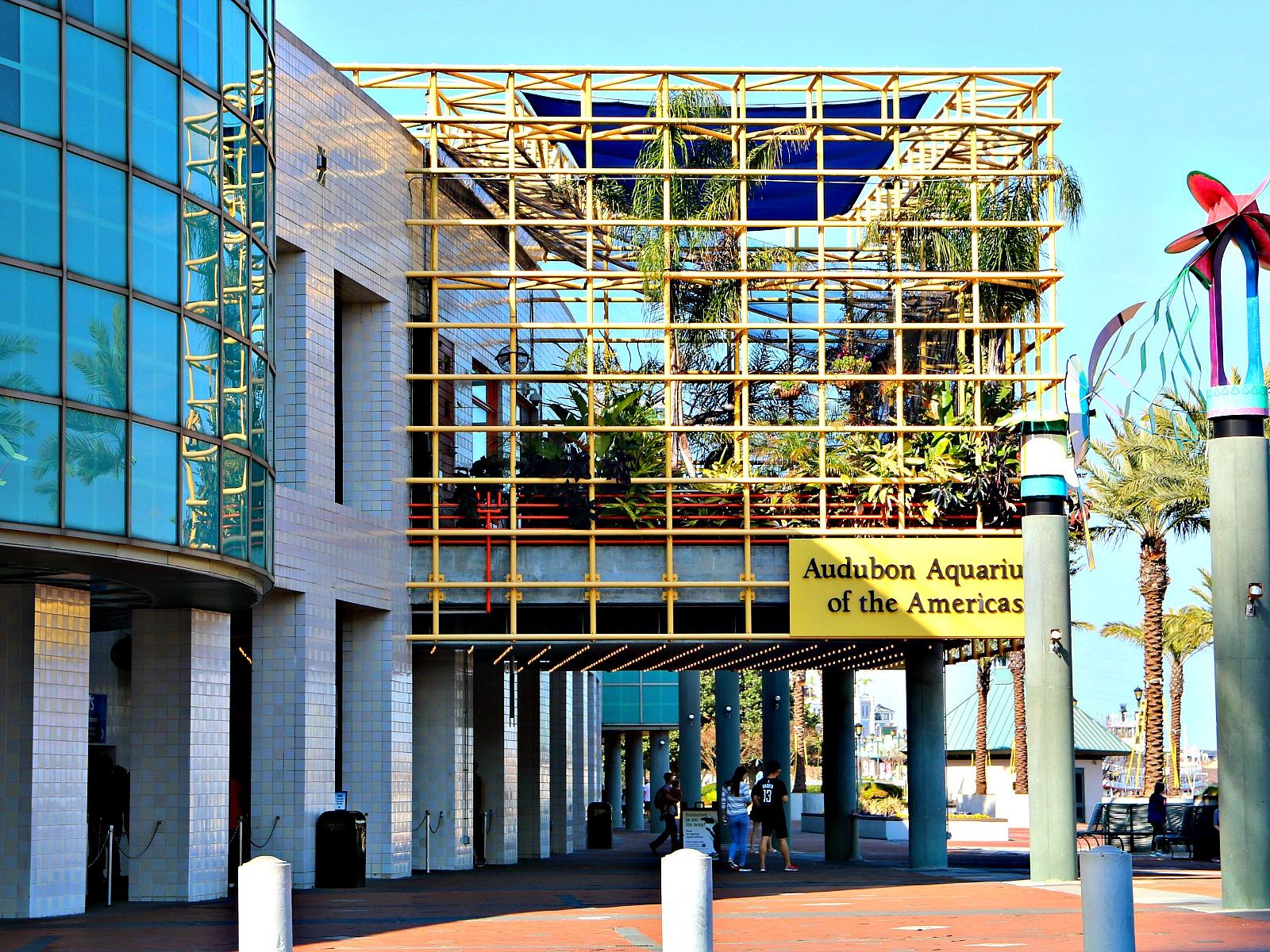Aquarium of the Americas in on the Riverwalk