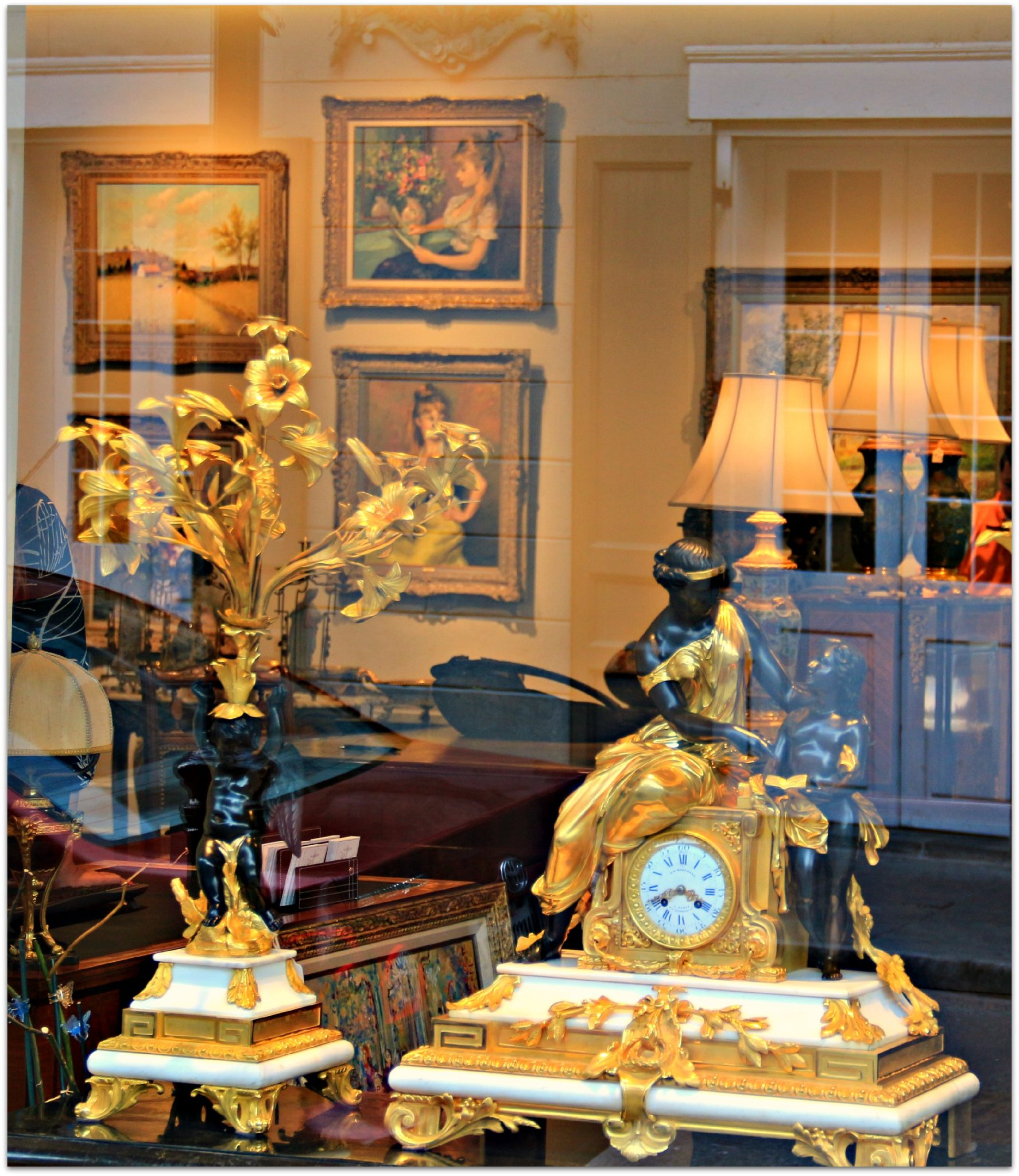 Antiques Shops on Royal Street
