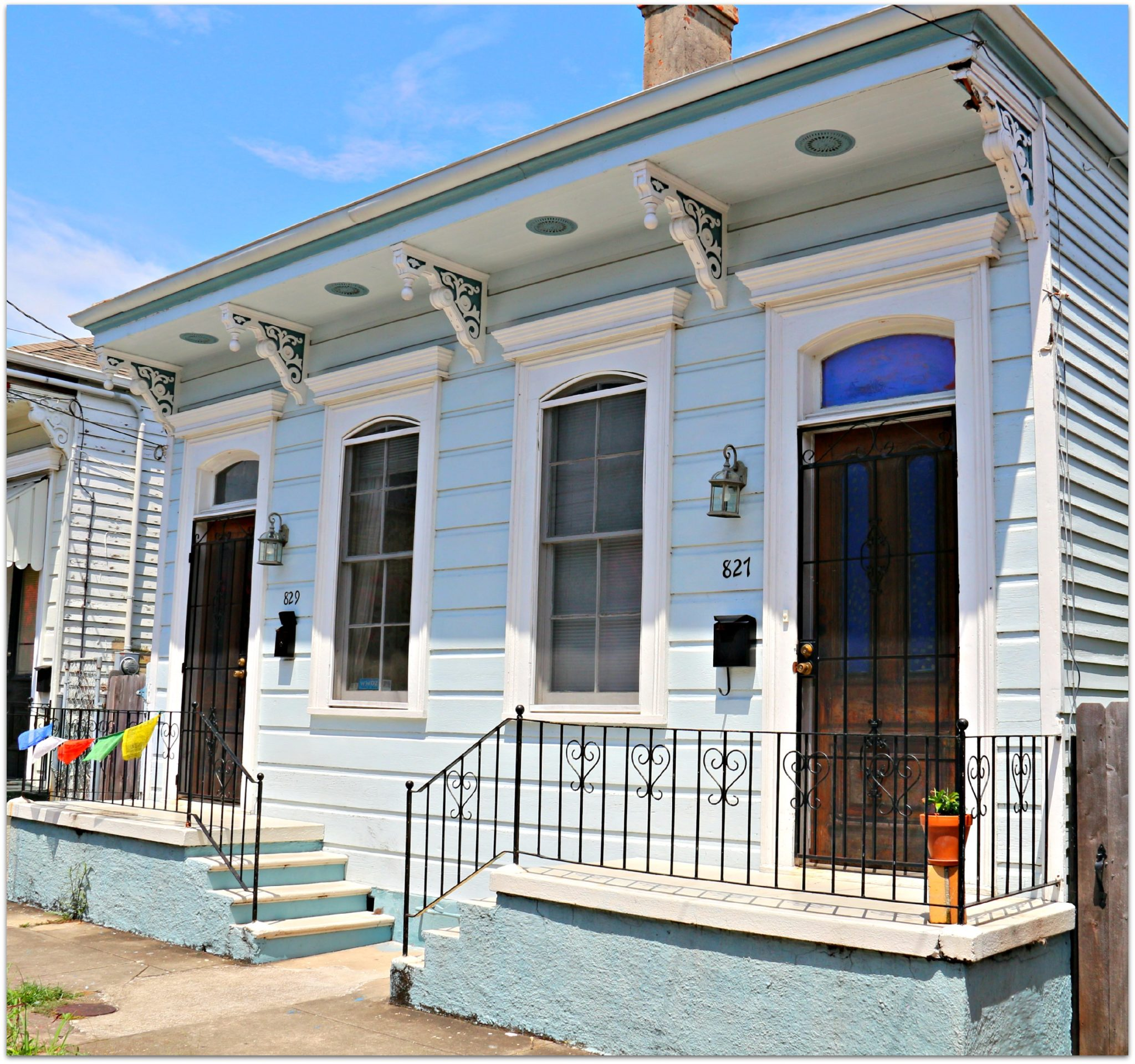 Bywater Doubles,The most common design