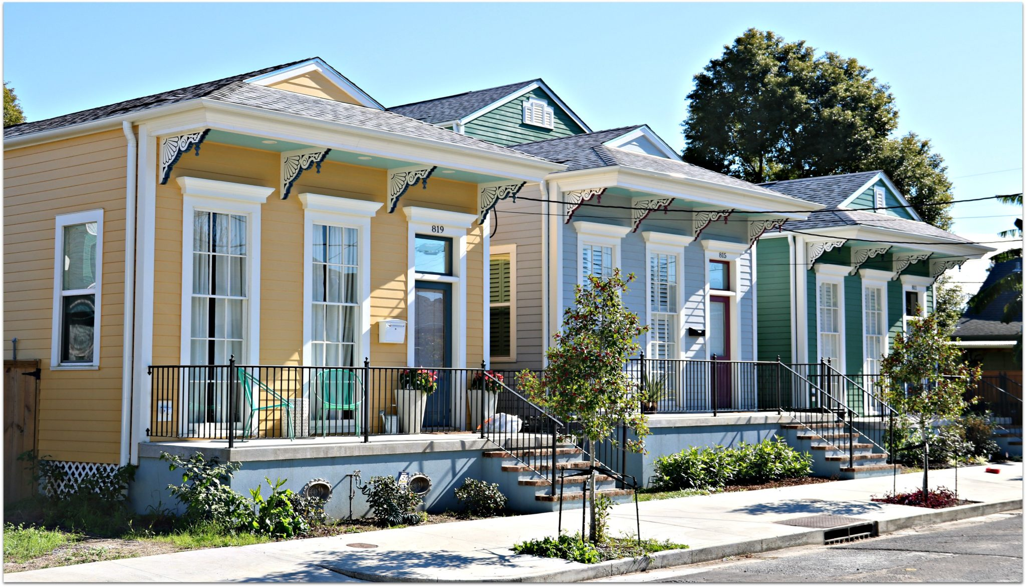 Historic New Homes in the Bywater