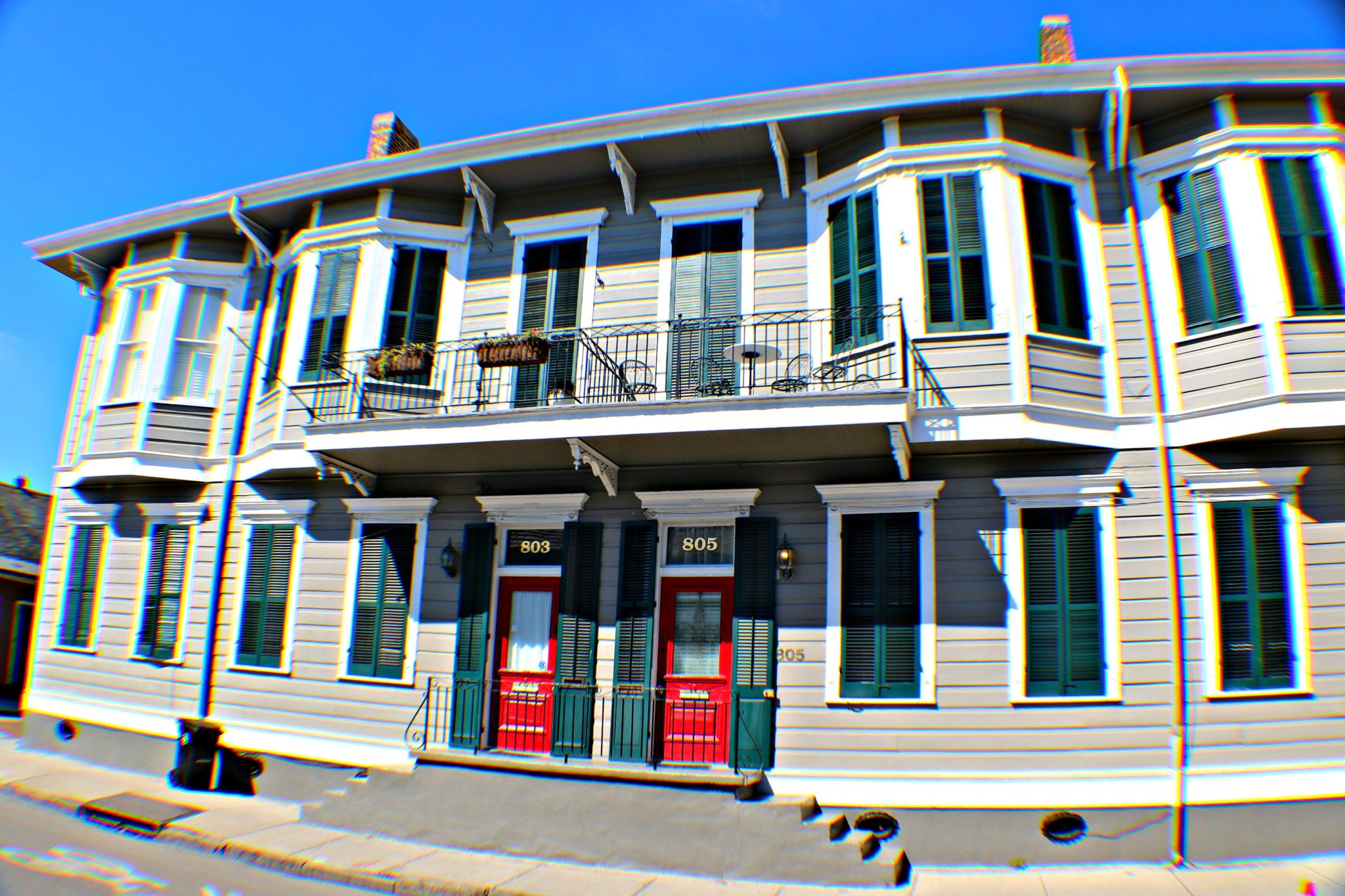 Second homes in the French Quarter.