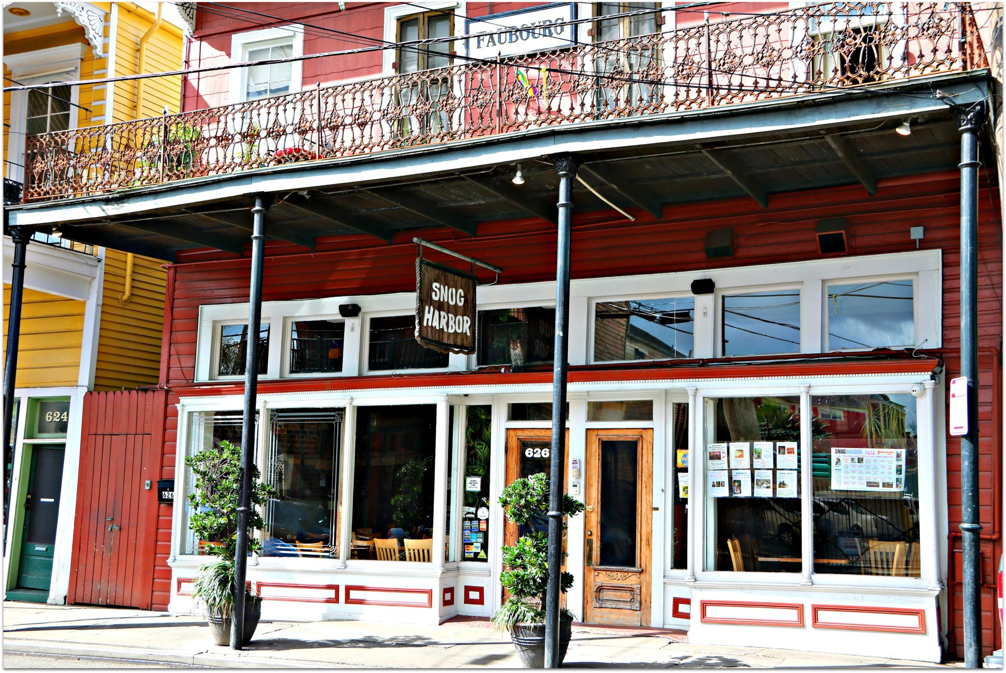 Frenchmen Street in New Orleans Marigny Neighborhood