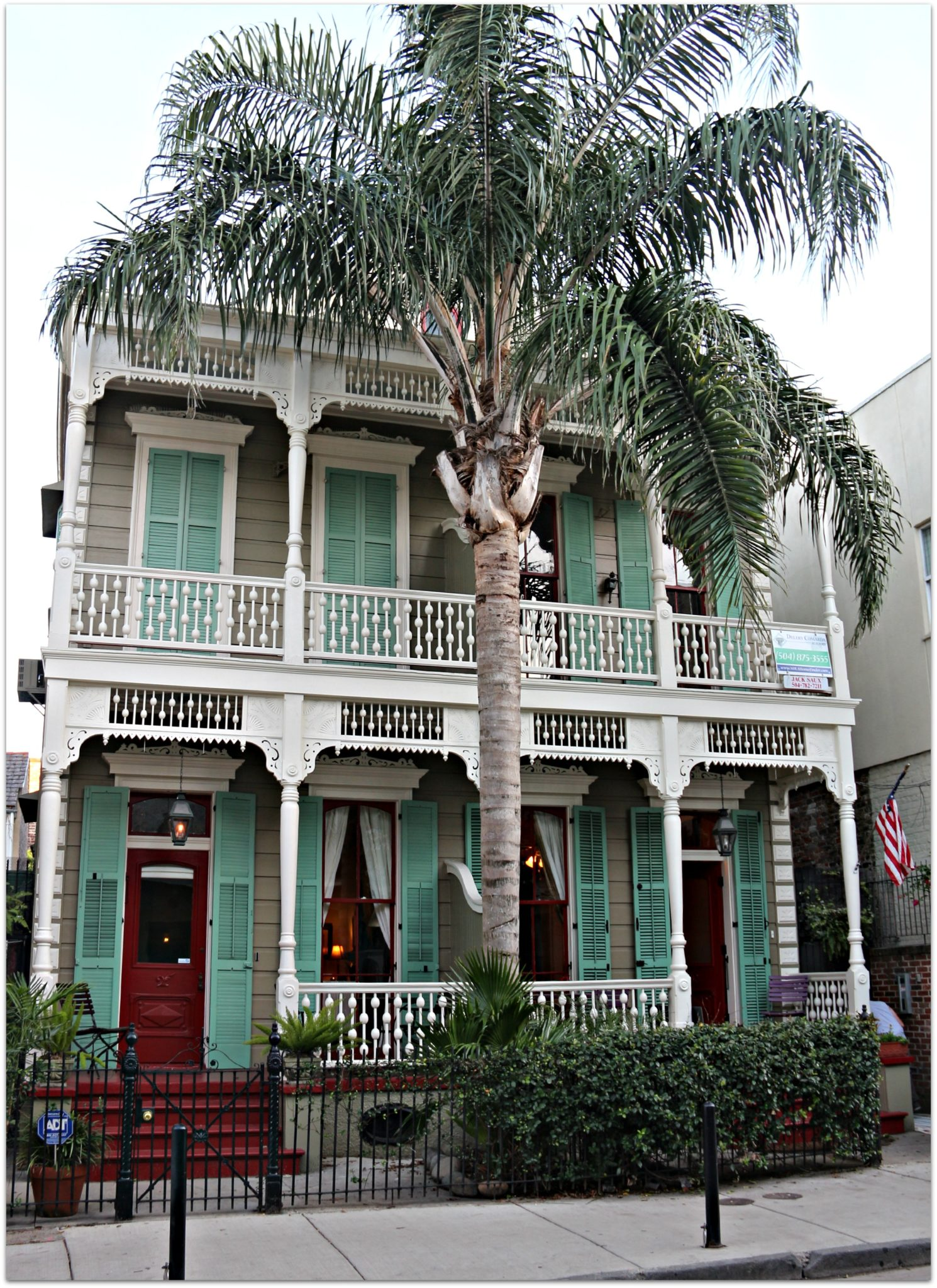 One of the condos for sale in French Quarter, LA