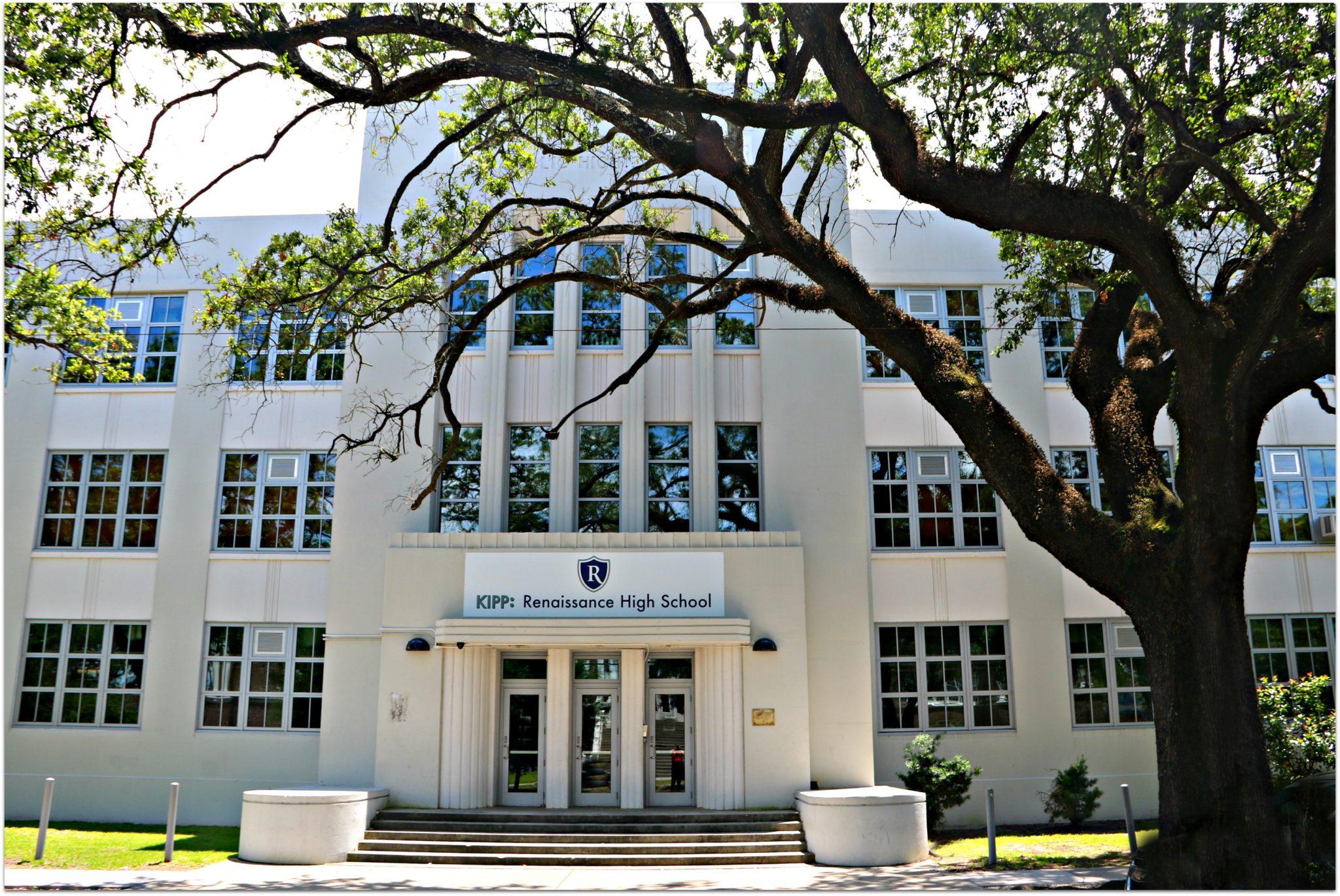 Fraancis T. Nicholls High School on St. Claude Avenue