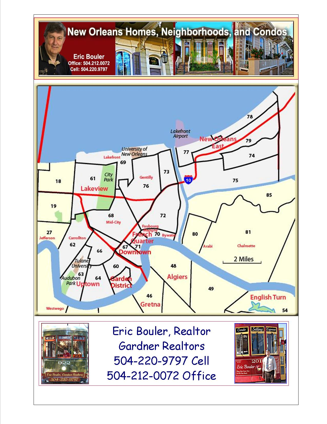 New Orleans Real Estate Map