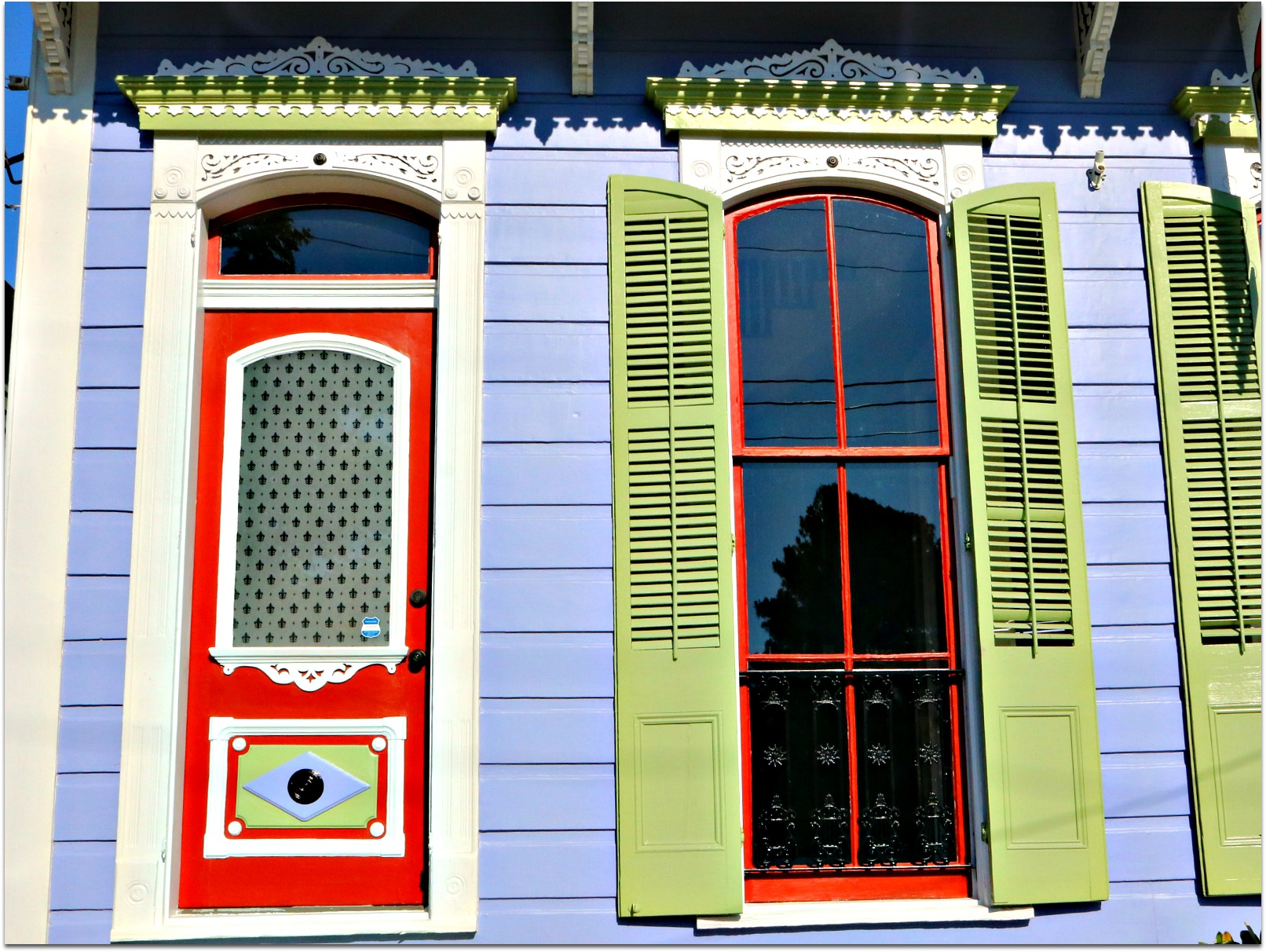 ... doors and shutters on the street. You see more and more attractive colors and more time spent by owners to show off their homes and works of art. Wow! & Bywater Homes Doors Windows and Shutters are Colorful ! - Nola ... pezcame.com