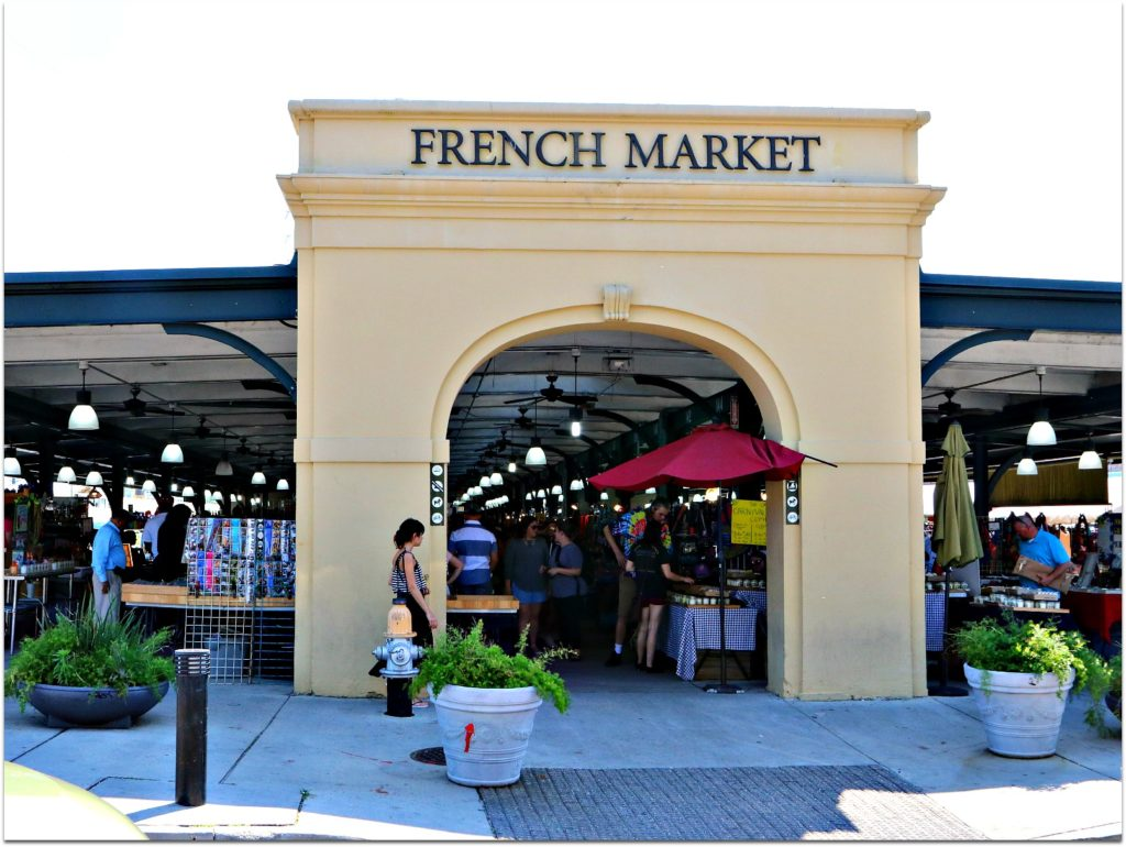 French Market Shopping In French Quarter Open Air
