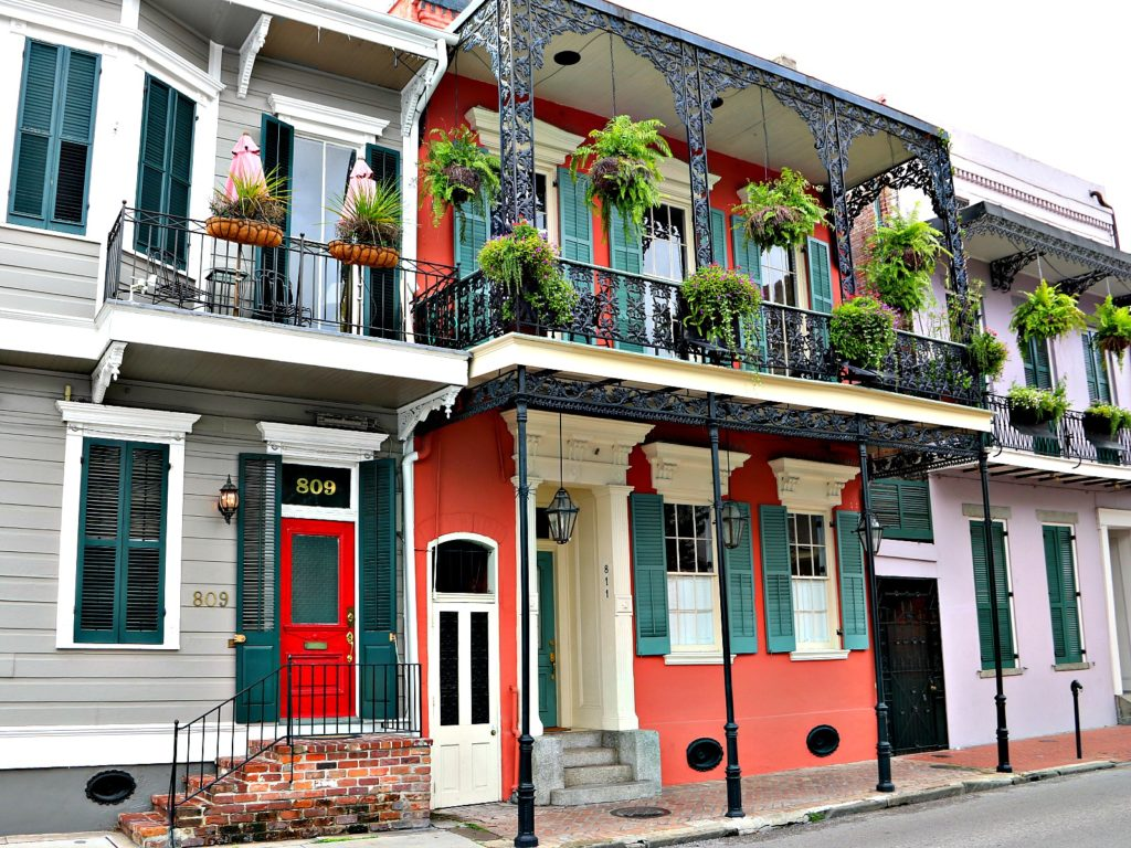 Creole Townhomes In New Orleans French Quarter Nola Neighborhoods