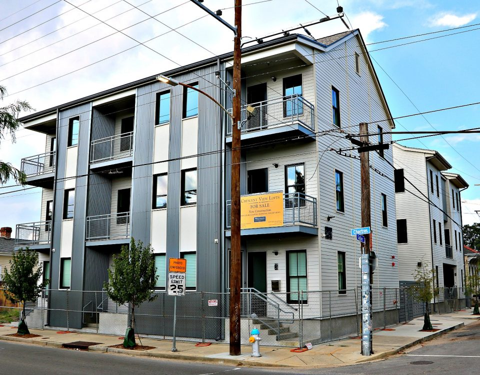 Crescent View Lofts in Bywater