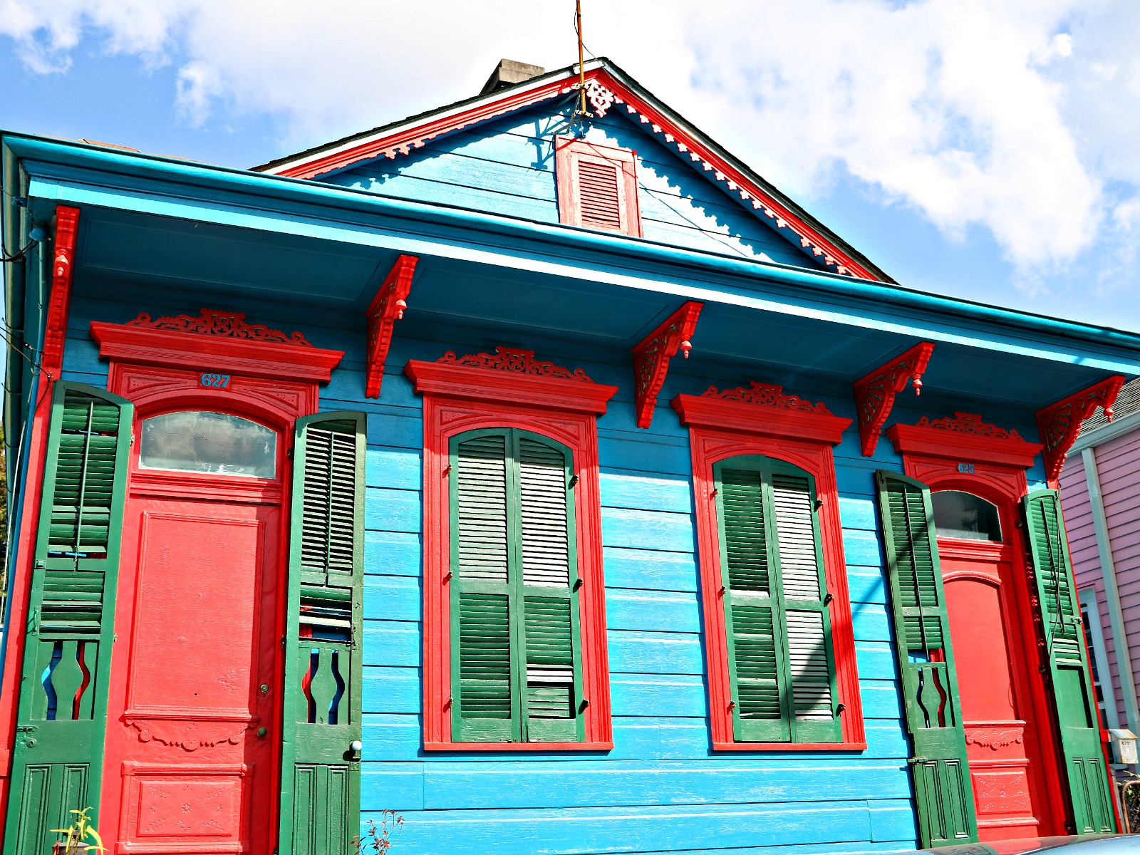 Bywater Real Estate, Some real colorful homes