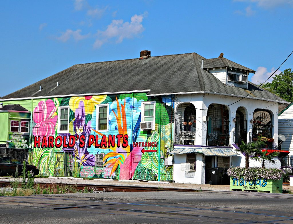 Historic Bywater Homes converted to business