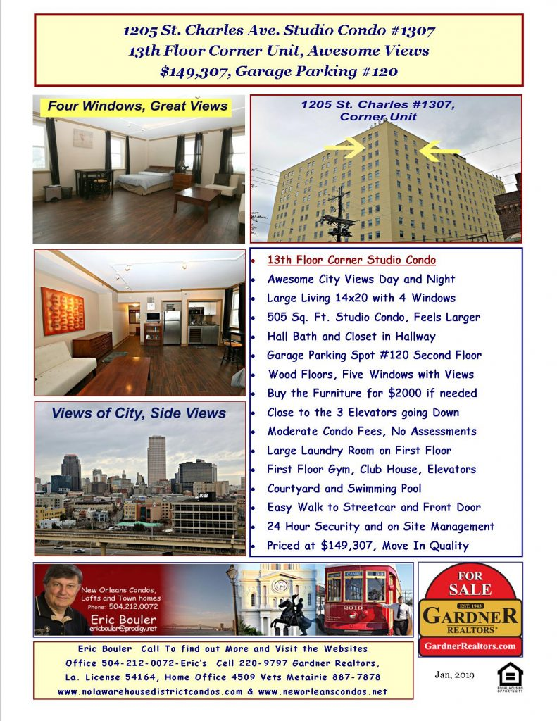 St. Charles Avenue Condos for Sale