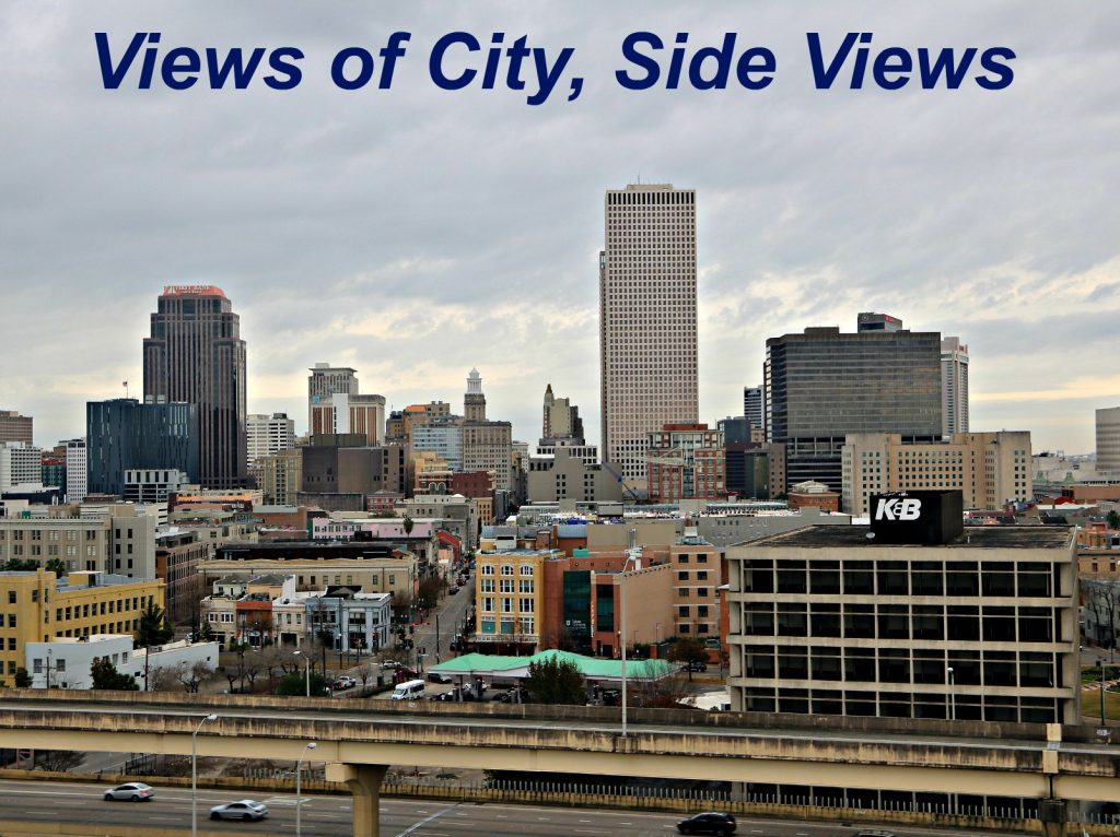 City Views from high floors of 1205 Condos on St. Charels
