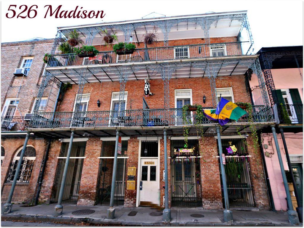 526 Madison Avenue Condos in French Quarter