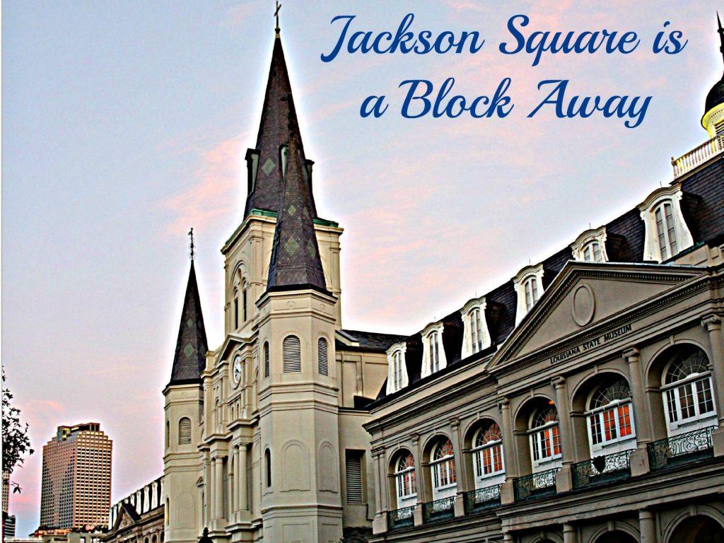 French Quarter Condos near Jackson Square