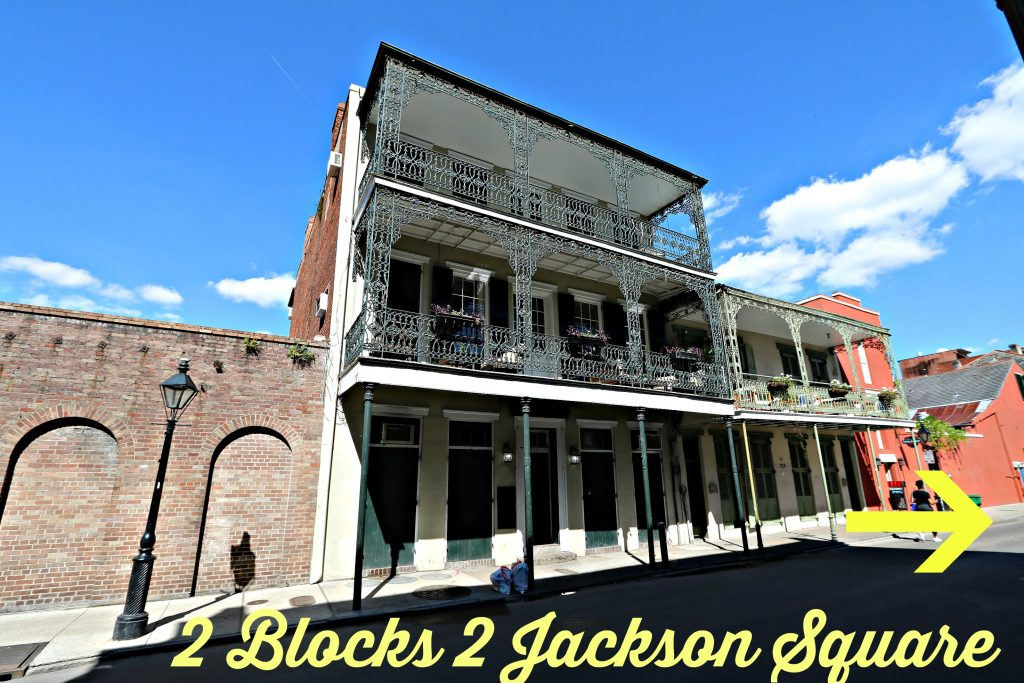 tWO bLOCKS TO jACKSON sQUARE