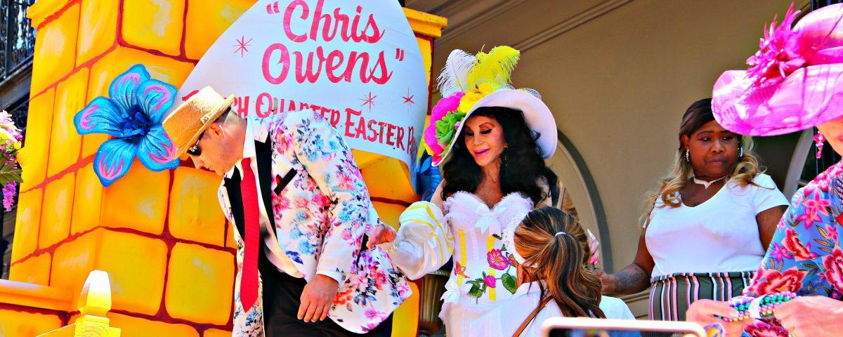 Chris Owens Easter Parade April 2019