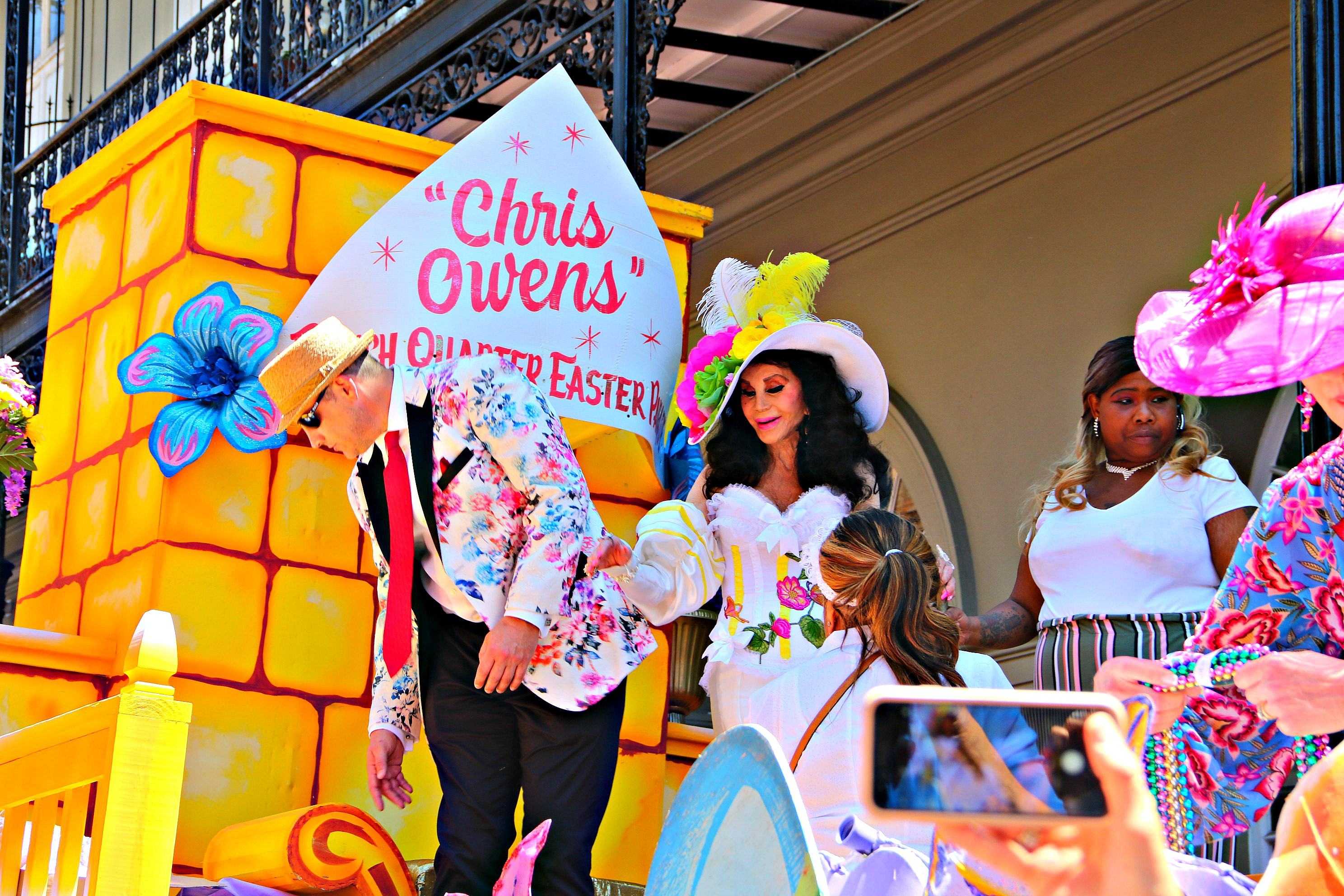 Chris Owens Easter Parade April 2019