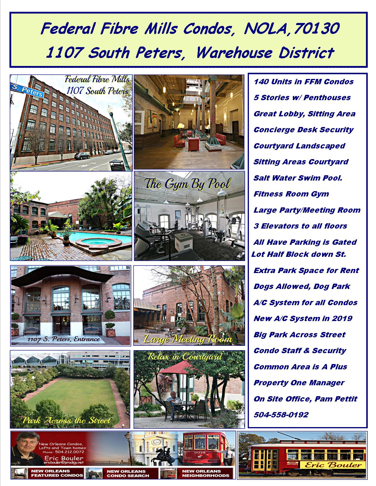 Federal Fibre Mills Condos in New Orleans